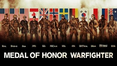 Medal of Honor: Warfighter. Начинаем играть