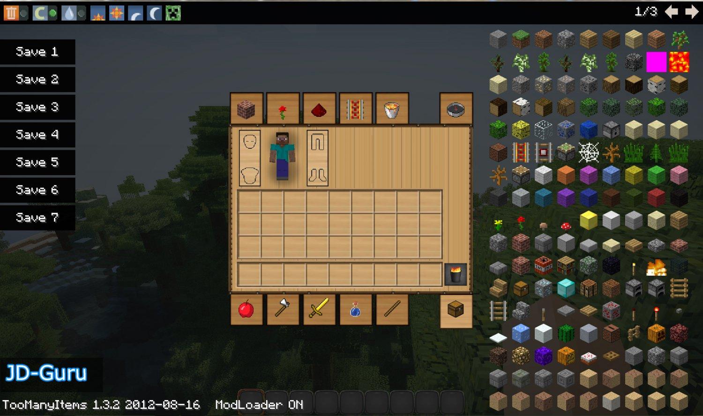 Too Many Items Mod 1.3.2