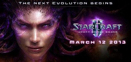StarCraft 2: Heart of the Swarm - дата выхода