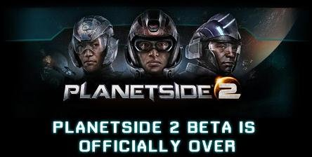 PlanetSide 2 – Официальное закрытие бета теста