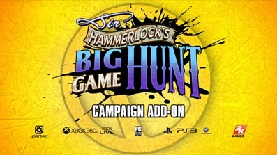 Borderlands 2 - Дата выхода DLC «Sir Hammerlock's Big Game Hunt»