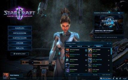 StarCraft II: Heart of the Swarm – Бесплатно менять имя персонажа